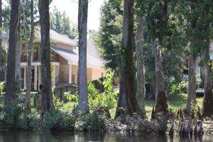 Upes lejtece Misisipi deltā